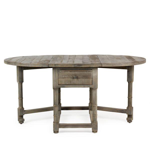 Table rabattable.
