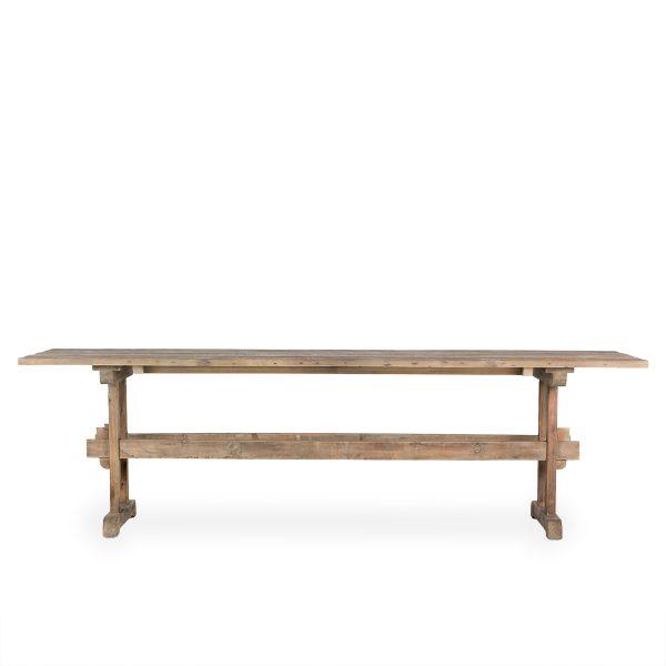 Tables bois rectangulaire hôtellerie.