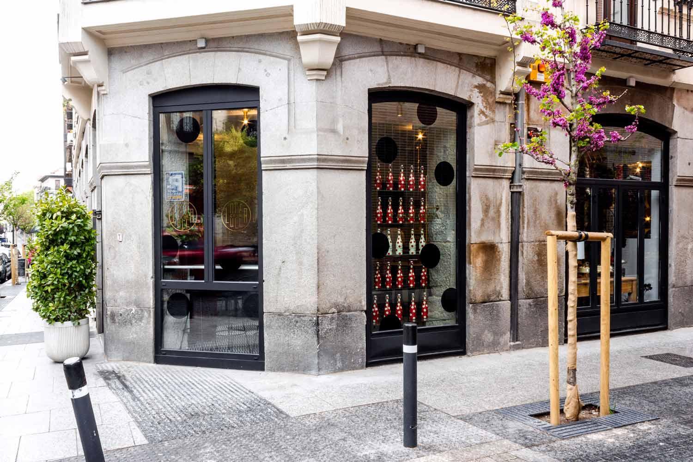 Exterior Casa Lolea en Madrid.