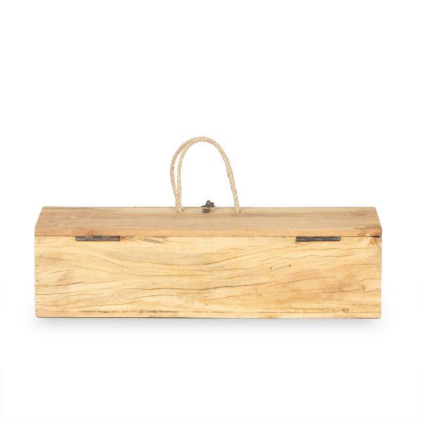 Cajas de madera multiusos decorativas.