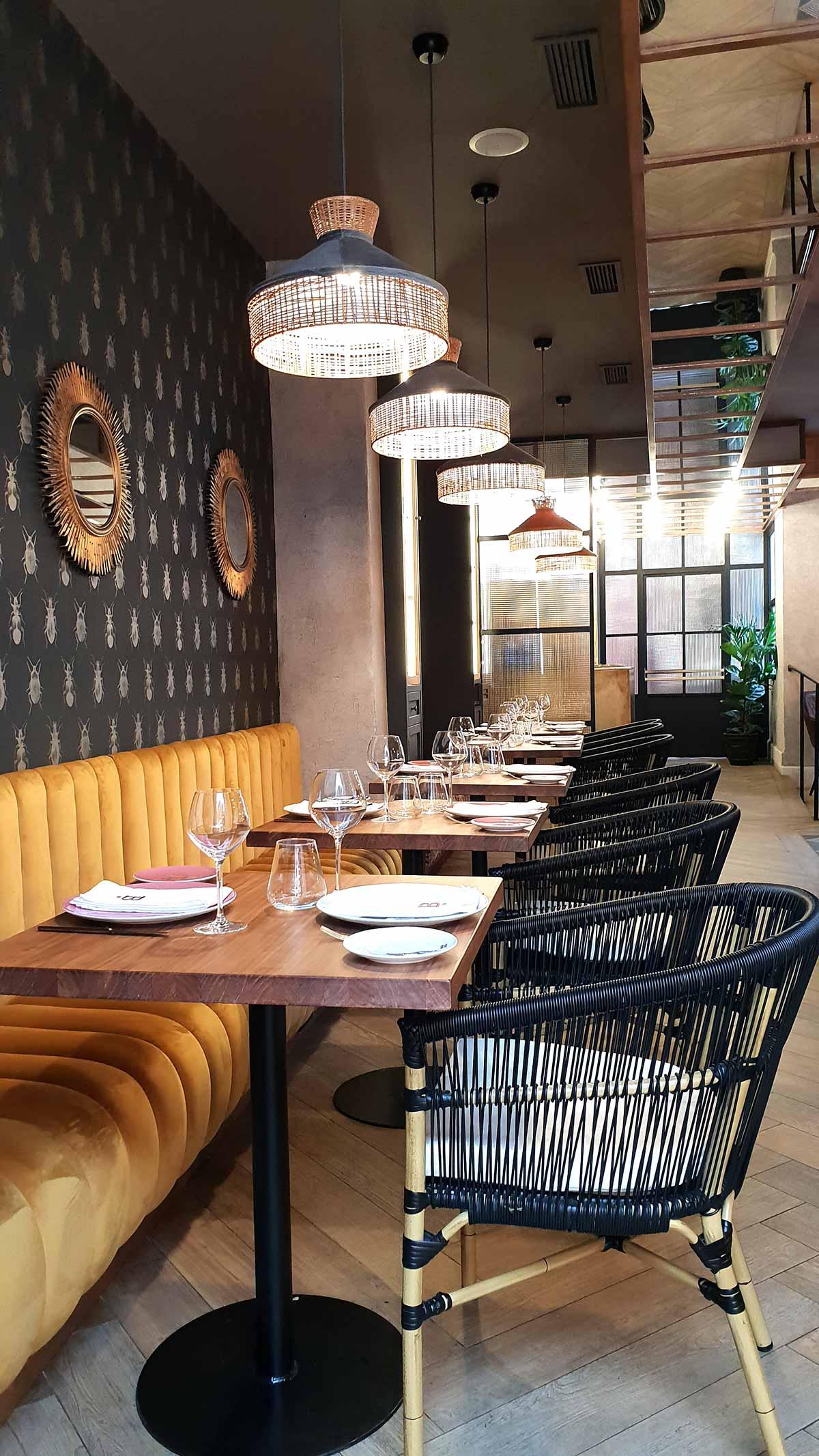Décoration pour restaurants remarquables.