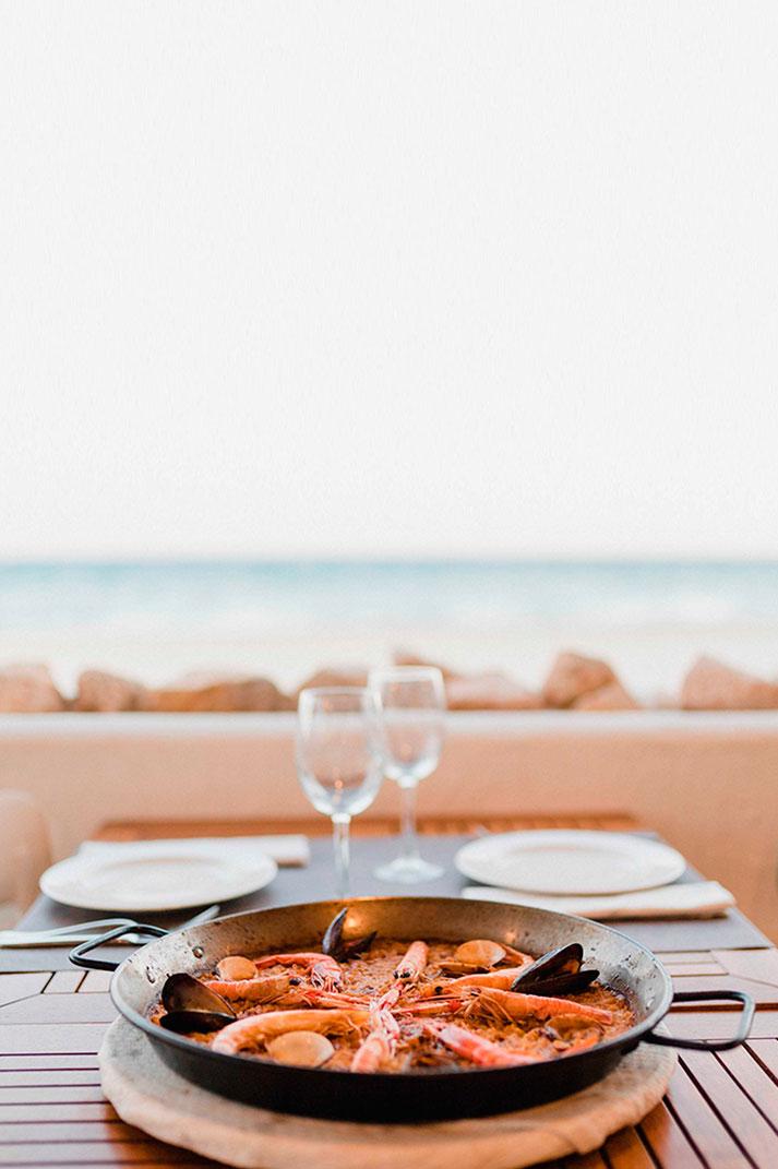 Interiorismo para restaurantes de costa.