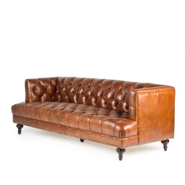 Sofás de estilo vintage.