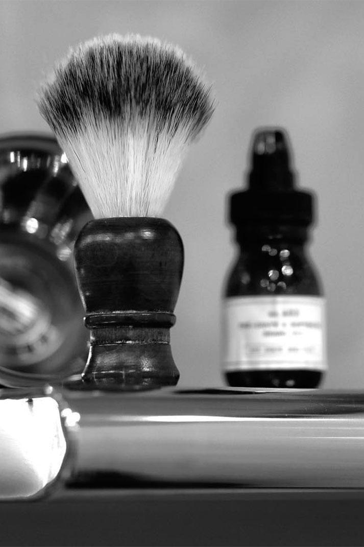 Décoration de salons de coiffure.