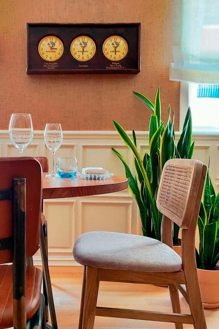 Design de restaurant Madrid.