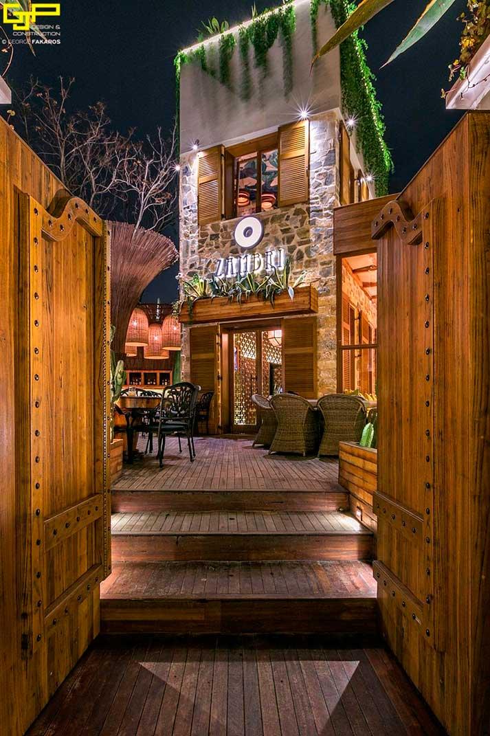 Déco intérieurs restaurants de luxe.