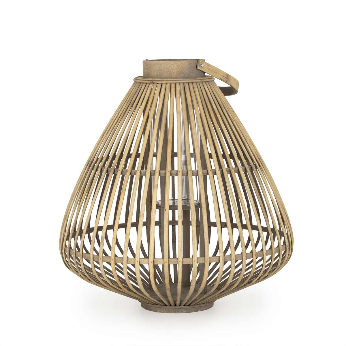 Bamboo Pendant Light Eriste Shira Commercial Lighting